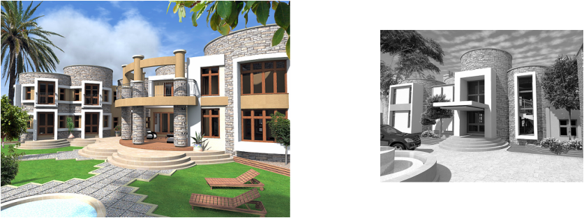 Mark Gouws Architects - New Residence for Mr. and Mrs. Bakaya, Maseru, Lesotho.